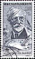 Mucha-Porträt